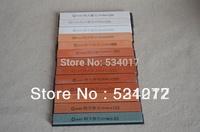 10pcs/set Whetstone stone with Base resistant Sharpening Stones Professional Knife grinder Free shipping