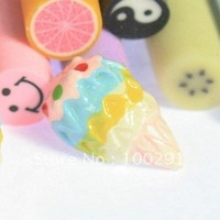 JAPAN DIY  kawaii Ice cream flat back resin cabochons for PHONE decoration