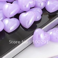 14mm purple love  shape cell phone decoration, kawaii flat back resin  for DIY decoration