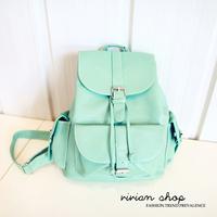 2014 candy color student school bag backpack summer women's backpack handbag