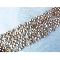 #3312 10pcs Wholesale Dancing Freshwater Pearl 15 Inch Strand