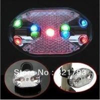 Free shipping, MTB bicycle rear LED light 9 LED warning light,waterproof bike rear light