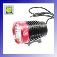 [ RED Head ] Cree XM-L T6 1200 Lumen 3-Mode LED Bicycle Light/bike light/headlight[Shipped By DHL/UPS/EMS/Fedex]