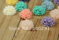 Exquisite mix 13mm resinous Flower Beads ,DIY flower beads for phone or  fingernail