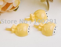 15*22mm yellow color Exquisite lovely  lollipop resinous  Beads ,DIY  beads for phone or  fingernail