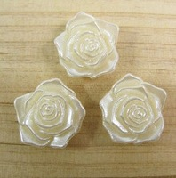 FreeShipping!!! the rose Accessory findings,light yellow color!!!