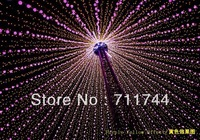 Free shipping/9colors 20m 200leds waterproof string Lights with 8 Lighting Modes  for Wedding Christmas  w/ End Plug EU Plug