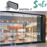 SUS304 grade stainless steel glass door clip for folding door system