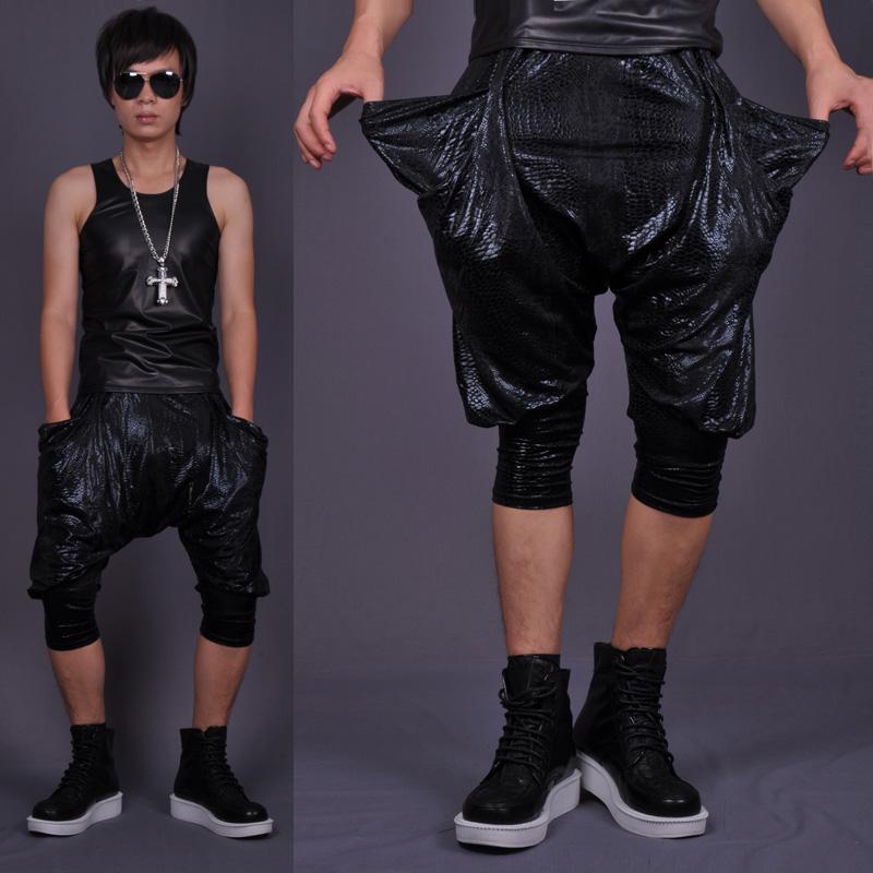 leather harem pants men - photo #24