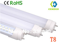 FREE SHIPPING Promotion Wholesale 50pcs/lot T8 18W 1200mm LED Tube Lamp High Efficiency Non-isolated Power Driver 3year Warranty