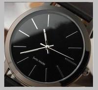New big dial 2014 men and women fashion watch, free shipping