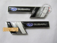 Subaru forester  car sticker  fender badge emblem logo legacy outback -2pcs