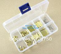 M2 Brass Spacer Standoff / Screw / Nut Assortment Kit