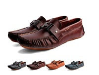 2013 fashion casual gommini shoes men boat shoes Cowhide Driving Moccasins men Loafers genuine leather flats