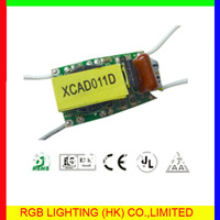 Small size dimmable led power 6-9w 320ma