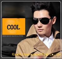 2013 Hot!!! Authentic Men's Sunglasses Brand Sunglasses Send Night Vision Driving Glasses Polarized Sunglasses Driving Uv400 913