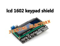 5PCS LCD Keypad Shield of the LCD1602 character LCD input and output expansion board For ARDUINO
