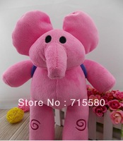 "High quality NEW Pocoyo 12"" ELLY Plush Bandai elephant"