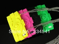 Free shipping Fashion bags phone case for iphone 4/4s/5,bricks silicone phone case for iphone multi colors