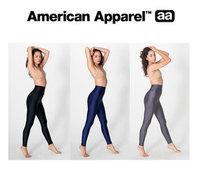 american apparel aa high waist pearl vintage dull high waist legging