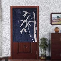 Free Shipping Chinese Classic Bamboo Japanese Noren Bamboo Batik Half Door Curtain D3030
