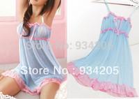 New Sexy Temptation Nightwear Lingerie Sleepwear Dress Chemise Nightie