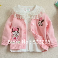 Free shipping 2013 autumn infant outerwear sweater baby sweater cardigan 100% cotton