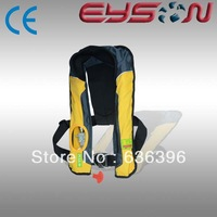 2013 hot sale latest CE/CCS approved inflatable life vest  for adults and children