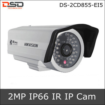 Video Security System IR-Bullet Proof Night Vision Hikvision 2 Megapixel PoE Outdoor CCTV Camera  IP DS-2CD855-EI5
