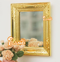 iland Free Shipping Very Cheap 1:12 Dollhouse Miniatue Bedroom Furniture Mirror Classic toys
