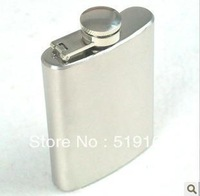 Free Shipping! Ourdoor Portable 3.5OZ Liquor Rectangle  Hip Flask Wine Pot Flagon with Funnel