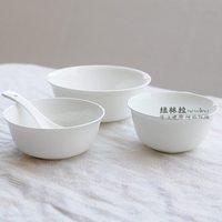 Kupper 4.25 jingdezhen bone china whitest meters ceramic bowl chinese style bowl
