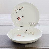 7 8 rice dish plate bone china tableware ceramic dish scodella microwave oven