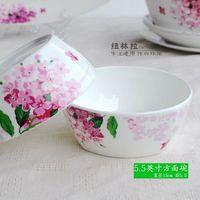 Tableware rice bowl avowedly diy series set bone china rice bowl