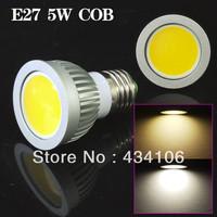 10pcs/lot-Free  shipping Dimmable gu10 / E27 / GU5.3 / E14 / MR16 /5w/ 9W 12W COB LED Spot Light Bulbs Lamp  AC85-265V