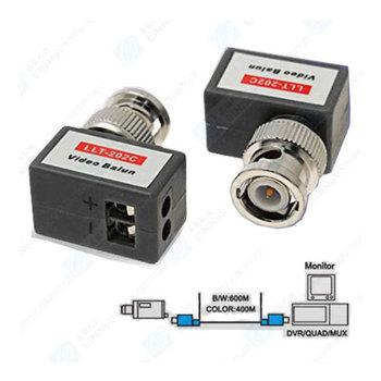 CCTV Passive Video Balun UTP Transceivers BNC Cat5