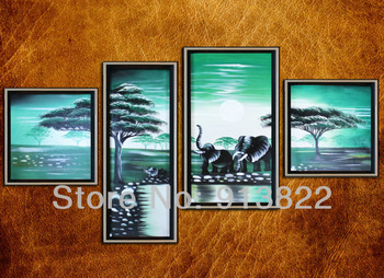 Free Shipping High Q. art Oil Paintings Painted by hand on Canvas Home improvement