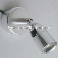 1W 220V/110V wall mounting LED spot light/LED high power wall spot light/led decorative wall lamp