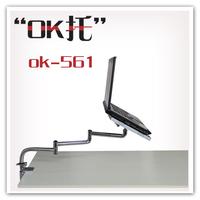 Ok-561 folding rotating retractable laptop desktop mount laptop cooling pad usb fan