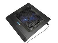 Notebook cooling base mount portable computer super silent fan radiator