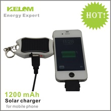 Mini 1200mah Capcity Portable Solar Charger/Solar Battery For Iphone/Samsung/Sony/HTC Mobile Phone Emergency Charger Free Ship(China (Mainland))