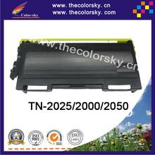 (CS-TN350) BK print top premium toner cartridge for Brother tn2075 tn25j tn2025 mfc7420 fax2820 fax2920 (2500 pages) Free FedEx
