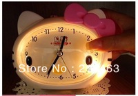 Free Shipping alarm clock Children's alarm clock With a night light lovely Music alarm clock