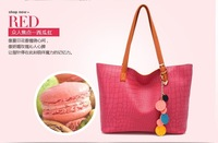 2013 new designer women handbag brand pu bag many colors sweet shoulder bag Free shipping B002