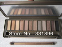 150pcs/lot Free shipping 12 COLOR Professional NK generation EYE SHADOW POWDER EYESHADOW palette makeup set mix #1,#2