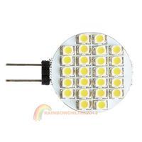 R1B1 Best G4 SMD LED Light DC12V 60LM Warm White Car Brake Stop Turn Bulb Rounded