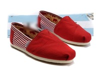 Famous designer Canvas shoes, fashion casul soft sole unisex flats,couples cotton comfortable shoes.