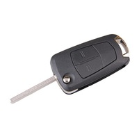 Uncut Folding Flip Key Case For Vauxhall for Opel Astra Vectra Corsa Signum 2BT