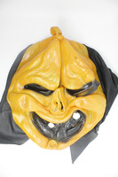 Fast free shipping masquerade party gift Halloween Horror pumpkin mask non-toxic Silicone pumpkin mask products 10pcs/lot