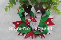 christmas hair bows, 2013 hot selling! free ship, via DHL!!!